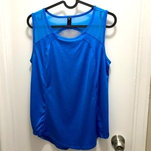 90 Degree by Reflex athletic tank top blue size S